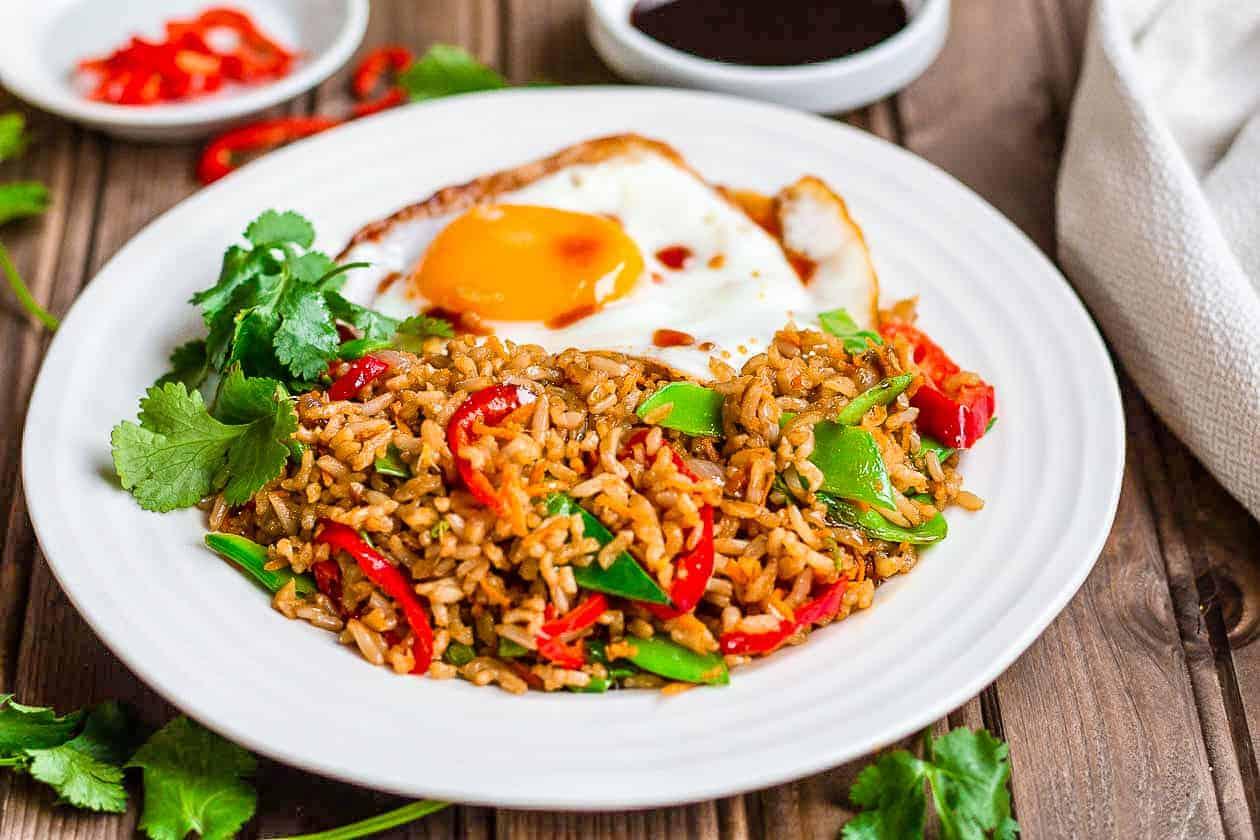 Easy Nasi Goreng Recipe Eat Well Abi