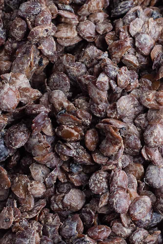 Fermented African Locust Beans - Iru / Dawa dawa · eat well abi