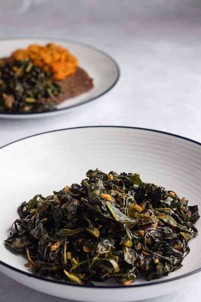 Ethiopian Gomen with cavolo nero kale