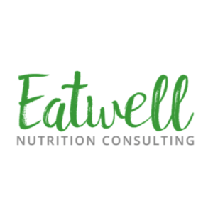 Eatwell Square logo with white space, no tea