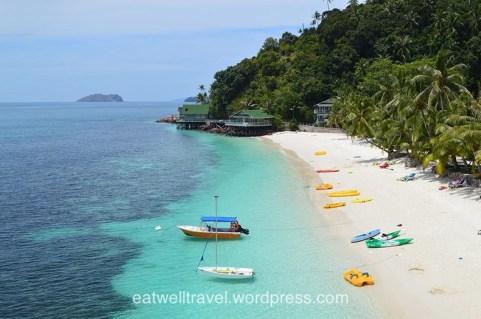 Pulau Rawa, île paradisiaque en Malaisie
