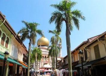 Arab Street, Chinatown, quelques jours à Singapour