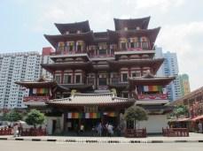 Buddha Relic Tooth Temple, Chinatown, quelques jours à Singapour