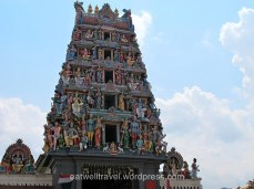 Hindu Temple, Chinatown, quelques jours à Singapour