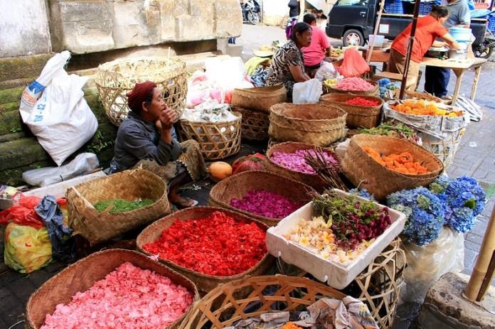 que faire à Ubud, marché de Ubud