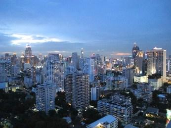 Bangkok, que faie en une journée - rooftop