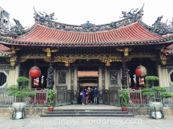 Weekend Taipei Longshan temple