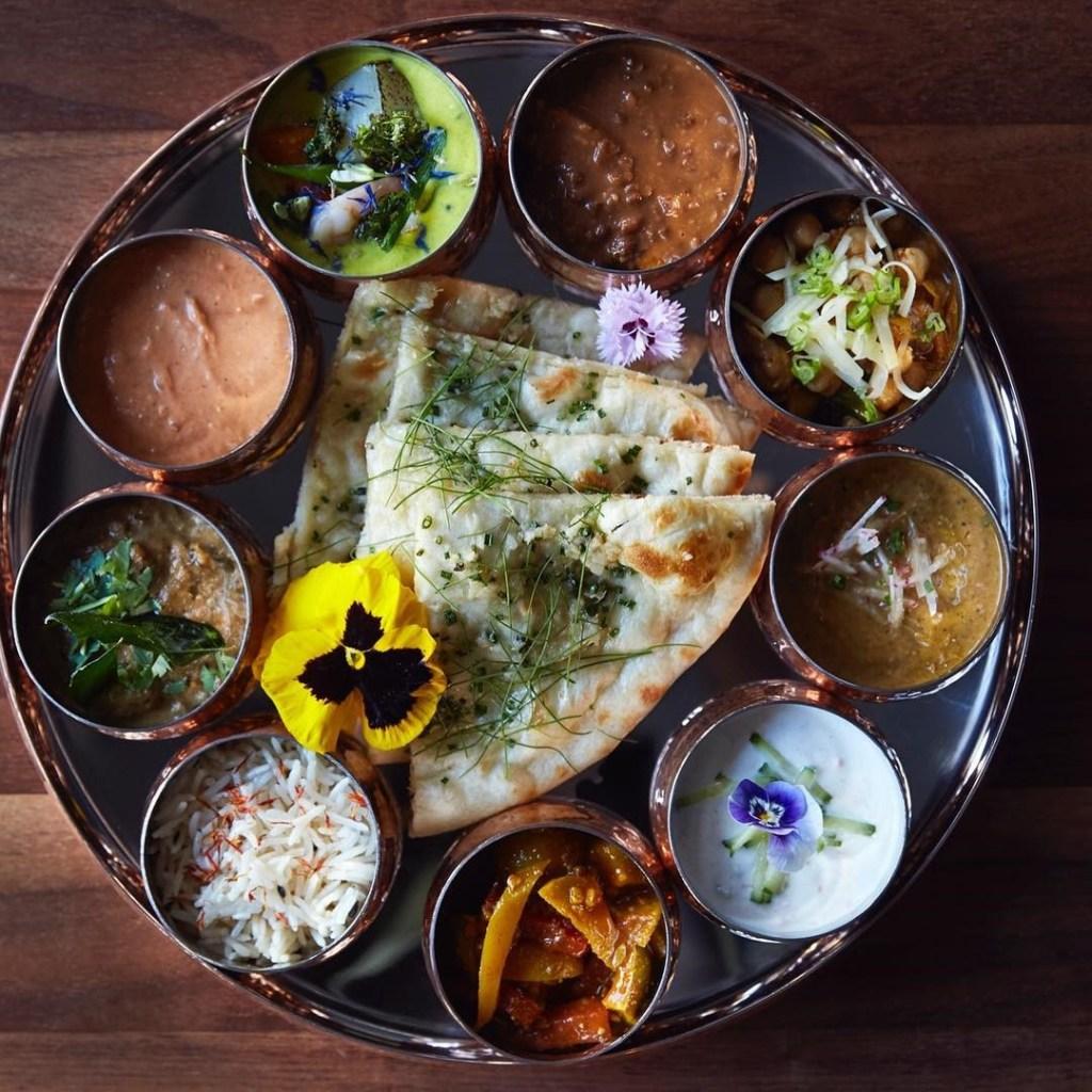 Babu Ji tasting plate