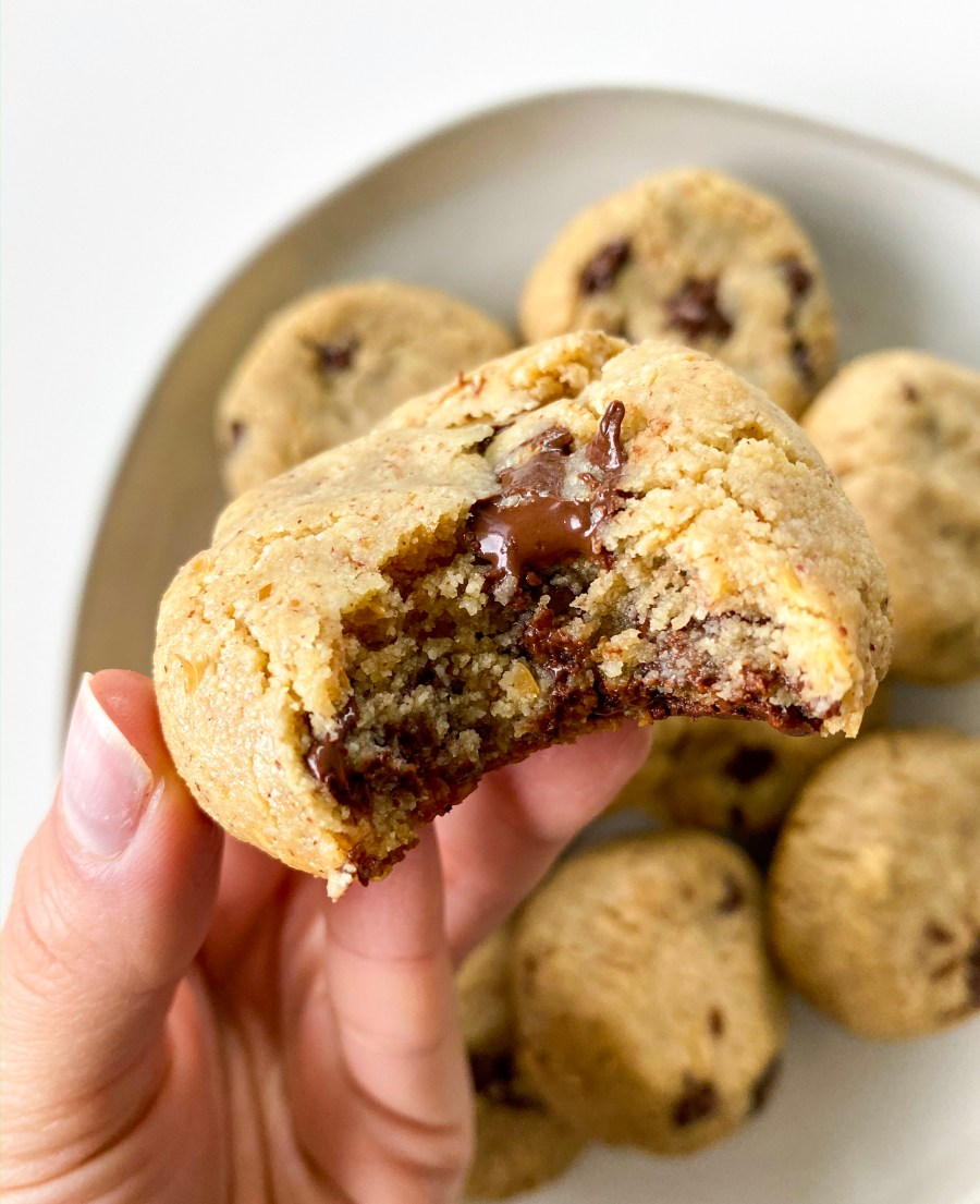 Classic Chocolate Chip Cookies (Vegan + Gluten Free)