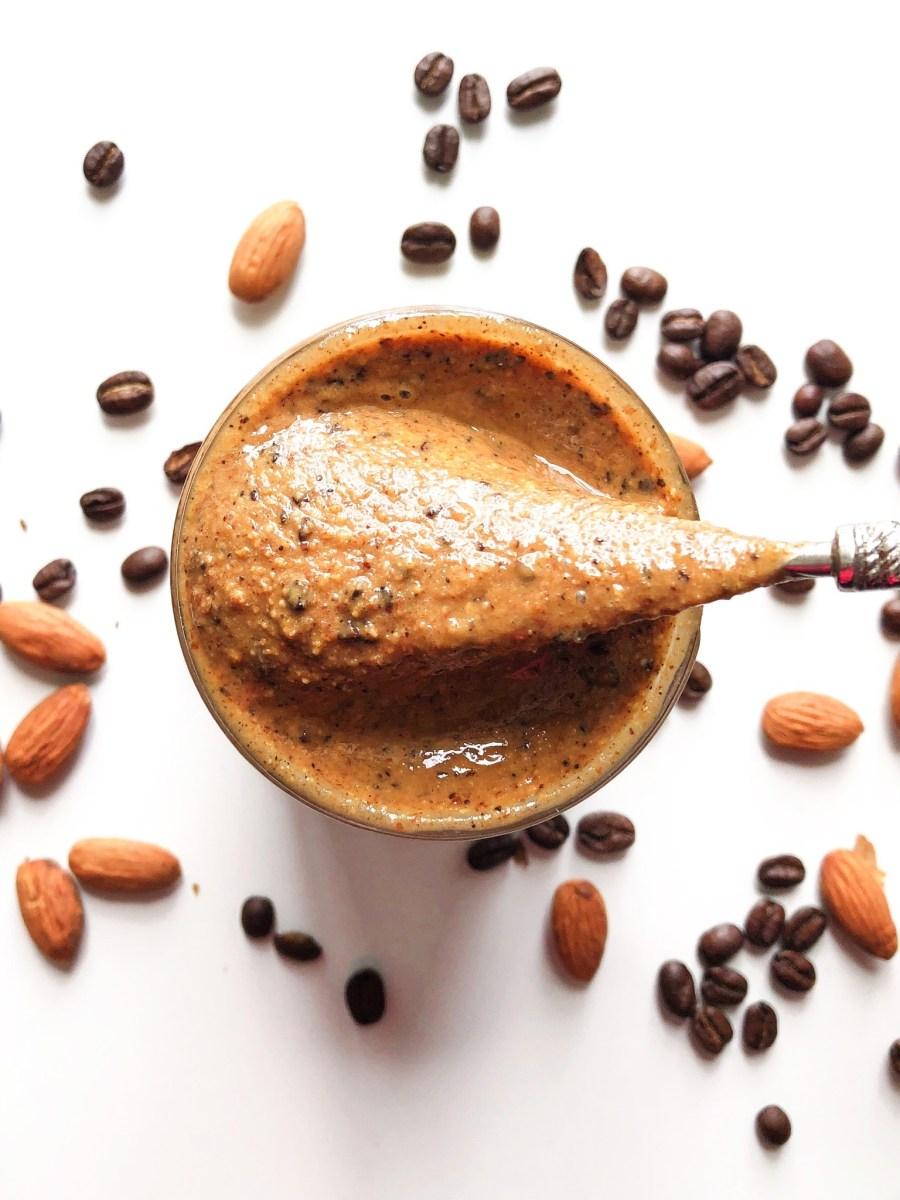 Vanilla Espresso Almond Butter