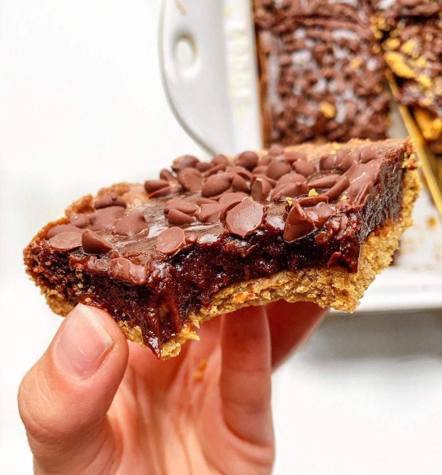GRAHAM CRACKER CHOCOLATE FUDGE BARS