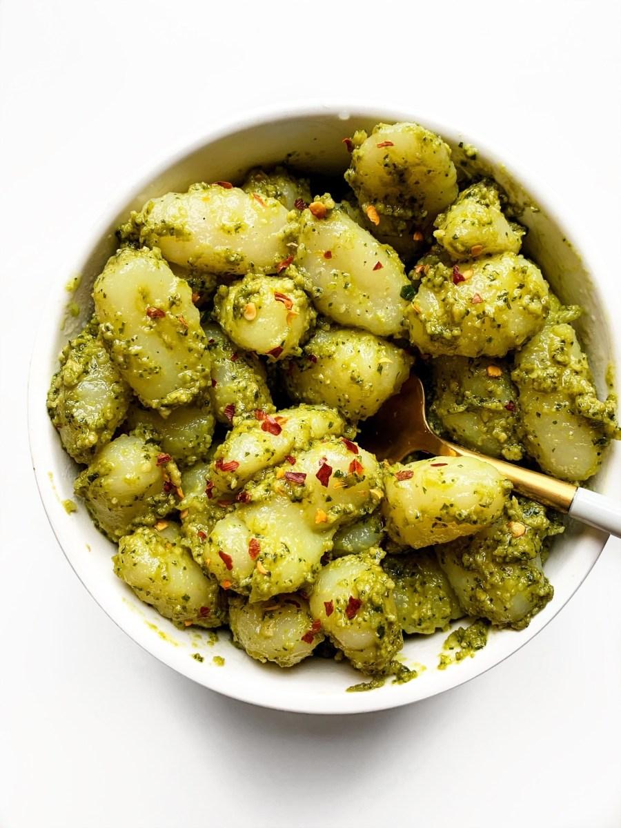 Vegan Cashew Basil Pesto