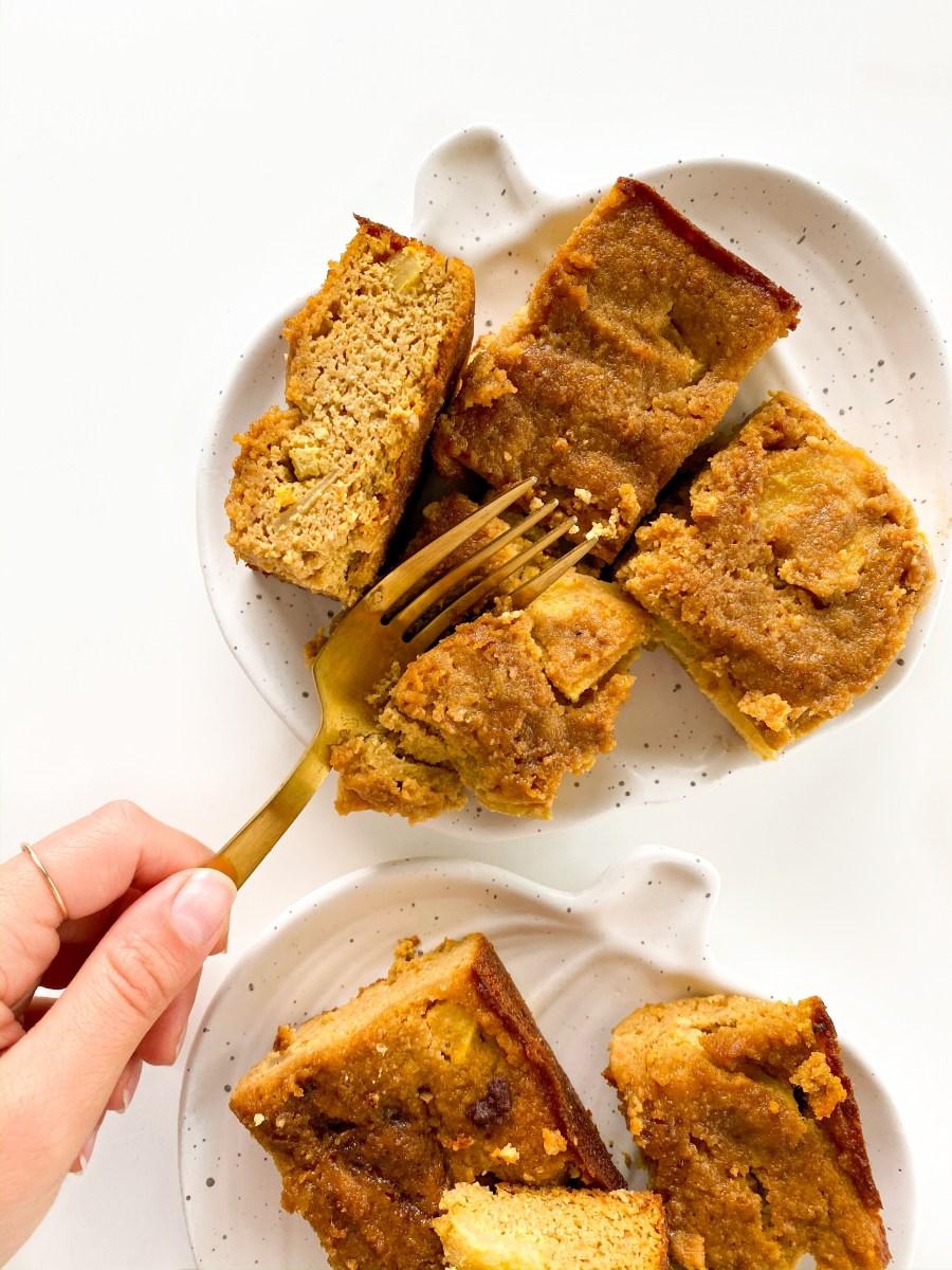 Apple Pumpkin Spice Cake (Gluten Free)