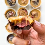 Peanut Butter & Jelly Chocolate Freezer Treats