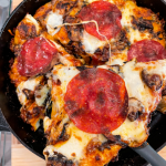 Easy Cast Iron Pizza