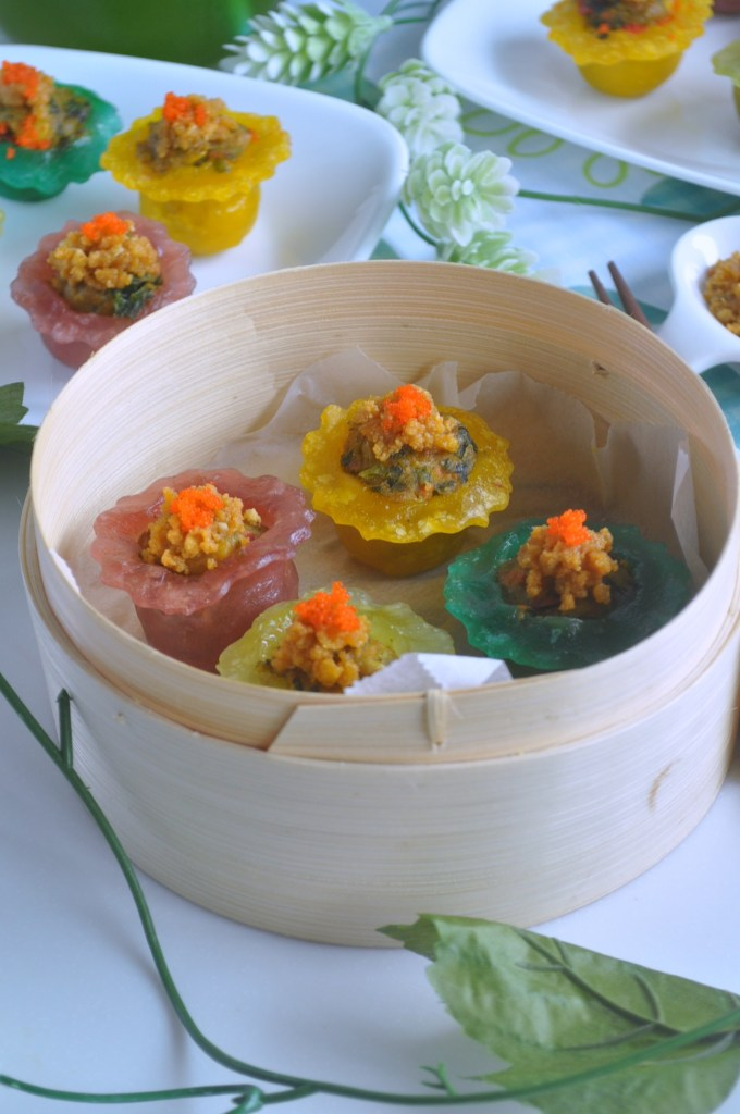 Rainbow Veggie Crystal Dumplings_2