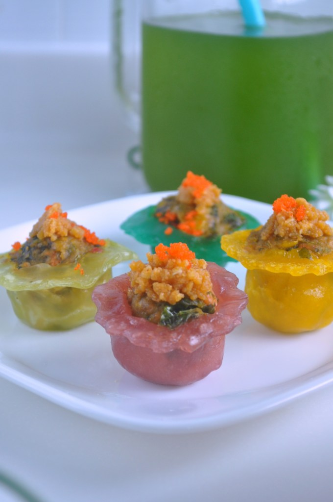 Rainbow Veggie Crystal Dumplings_3
