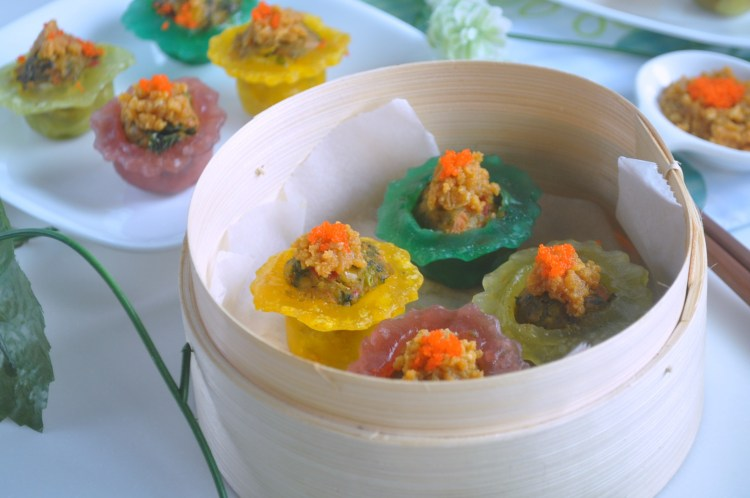 Rainbow Veggie Crystal Dumplings_8