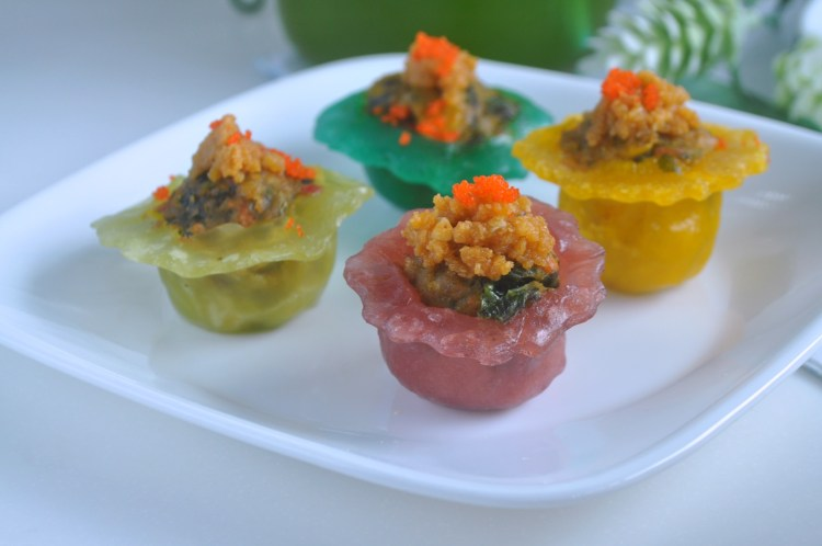Rainbow Veggie Crystal Dumplings_9