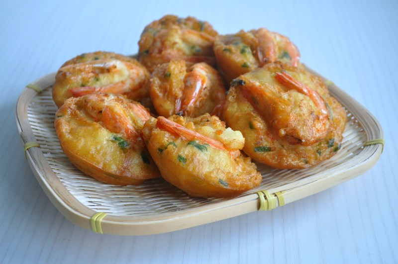 Prawn Fritters2