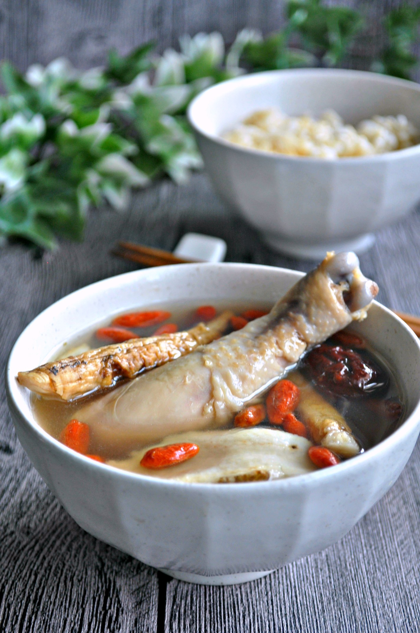 Chinese Herbal Chicken Soup 中式药材鸡汤