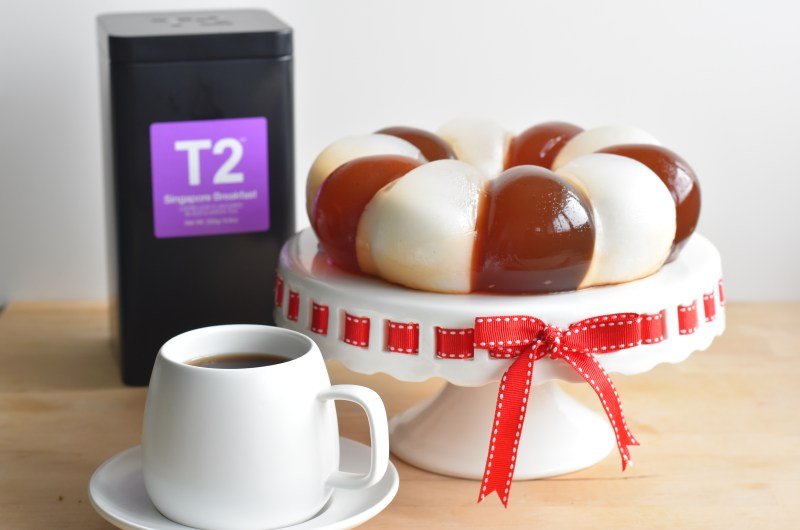 Refreshing Jelly Creations with Singapore Breakfast Tea from T2 Tea