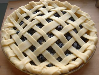 Garden Pests and Blueberry Pie