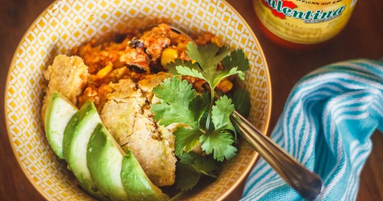 Quinoa Tamale Pie
