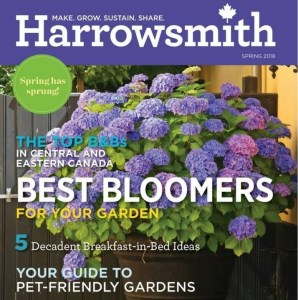 "Harrowsmith ""Things We Love"" feature, Spring 2018 - Eat What You Sow"