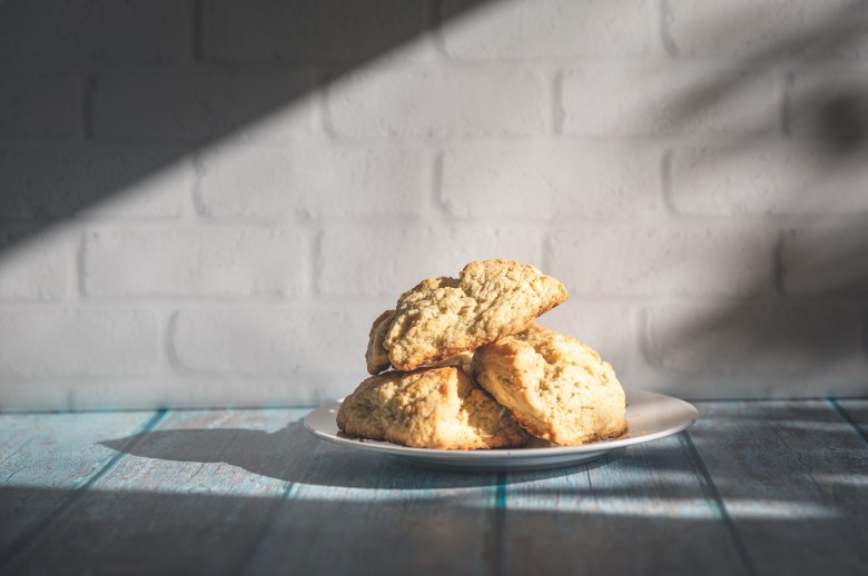 Vegan Farmhouse Scones (great as shortcakes!)