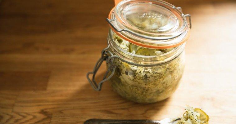 Dill Pickle Sauerkraut