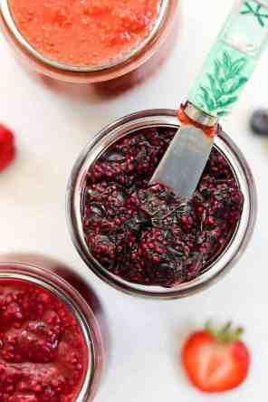 Homemade Chia Seed Jam
