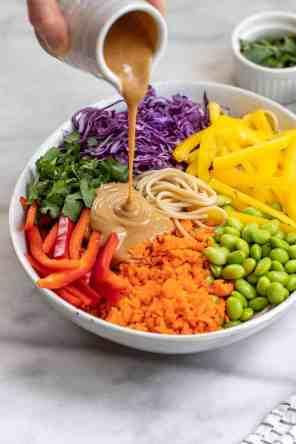 The Best Thai Noodle Salad