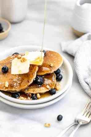 Gluten Free Oat Flour Pancakes
