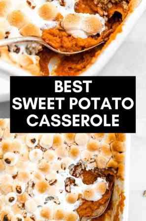 healthier sweet potato casserole