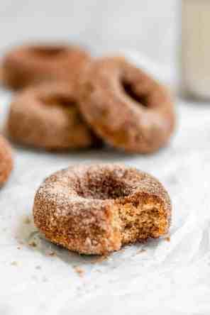 Vegan Cinnamon Sugar Donuts