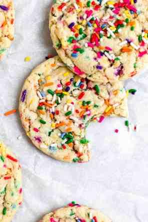 Vegan Funfetti Sugar Cookies