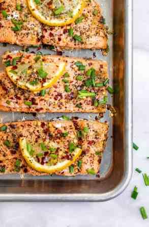 20 Minute Lemon Pepper Salmon