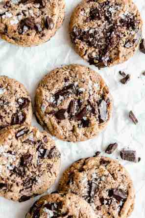 Chewy Vegan Protein Cookies