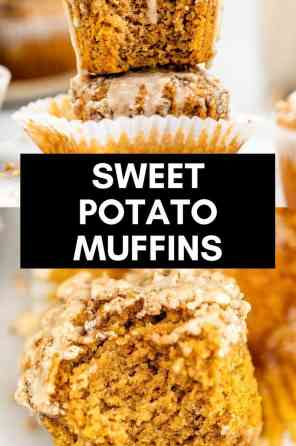 healthy gluten free sweet potato muffins