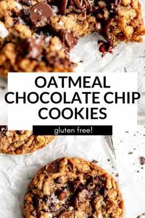 gluten free oatmeal cookies pin