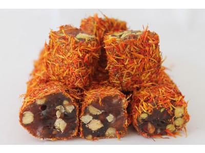 saffron lokum