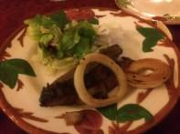 Home made dinner