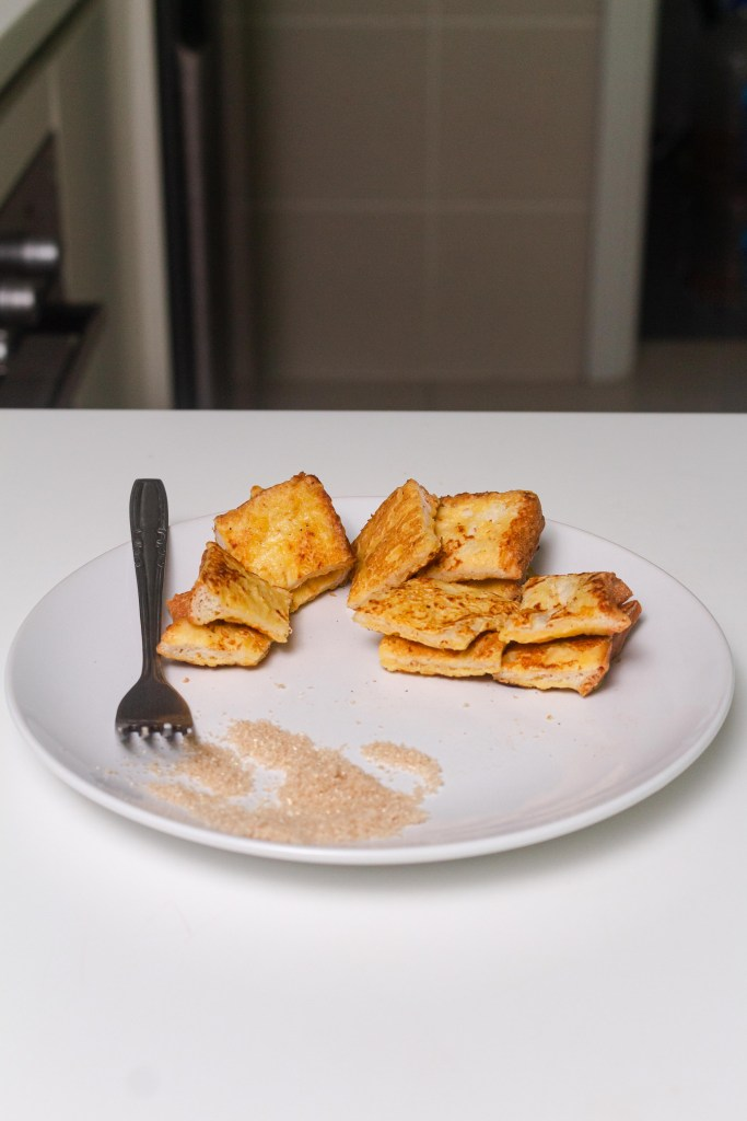 my gong gong's french toast (vegan)