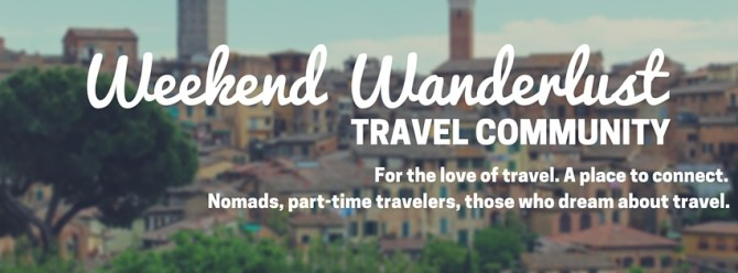 Weekend Wanderlust Facebook Header