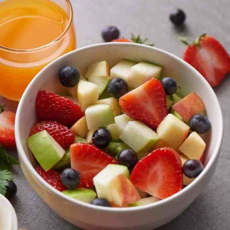 White bowl filled with 10 fruits, antioxidant rich foods. Fruits rich in vitamins and antioxidants.