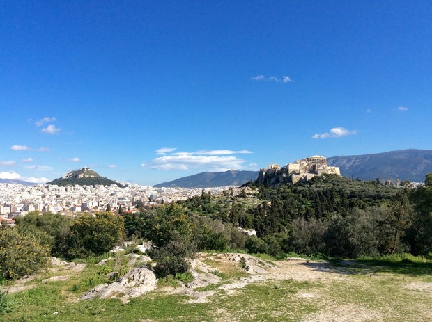 The Parthenon & Lycabettus hill