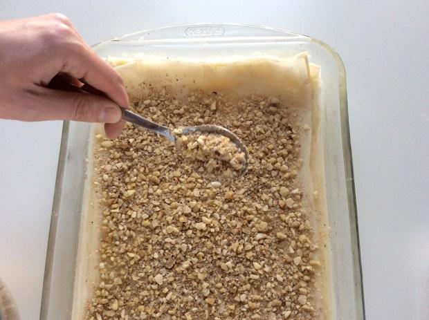baklava layering