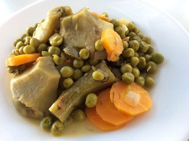artichokes stew