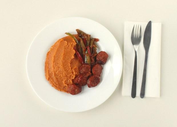 sausage and mash @eatyourselfgreek